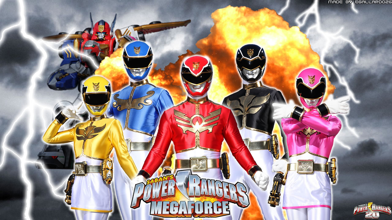 Power Rangers Megaforce coming soon! | Dropkick Daily